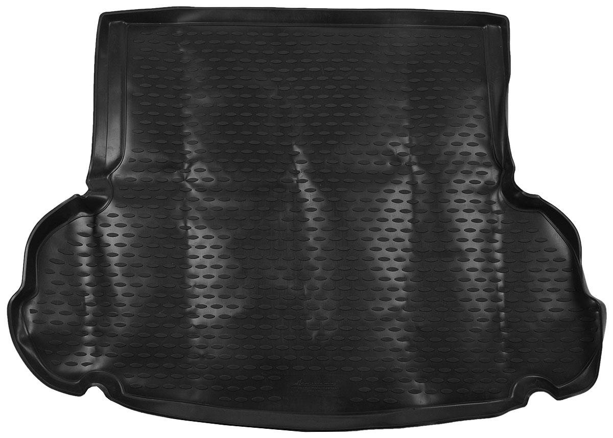 Коврик автомобильный Novline-Autofamily для Hyundai Elantra MD седан 2011-, в багажник. NLC.20.46.B10NLC.20.46.B10_черныйАвтомобильный коврик Novline-Autofamily, изготовленный из полиуретана, позволит вам без особых усилий содержать в чистоте багажный отсек вашего авто и при этом перевозить в нем абсолютно любые грузы. Этот модельный коврик идеально подойдет по размерам багажнику вашего автомобиля. Такой автомобильный коврик гарантированно защитит багажник от грязи, мусора и пыли, которые постоянно скапливаются в этом отсеке. А кроме того, поддон не пропускает влагу. Все это надолго убережет важную часть кузова от износа. Коврик в багажнике сильно упростит для вас уборку. Согласитесь, гораздо проще достать и почистить один коврик, нежели весь багажный отсек. Тем более, что поддон достаточно просто вынимается и вставляется обратно. Мыть коврик для багажника из полиуретана можно любыми чистящими средствами или просто водой. При этом много времени у вас уборка не отнимет, ведь полиуретан устойчив к загрязнениям.Если вам приходится перевозить в багажнике тяжелые грузы, за сохранность коврика можете не беспокоиться. Он сделан из прочного материала, который не деформируется при механических нагрузках и устойчив даже к экстремальным температурам. А кроме того, коврик для багажника надежно фиксируется и не сдвигается во время поездки, что является дополнительной гарантией сохранности вашего багажа.Коврик имеет форму и размеры, соответствующие модели данного автомобиля.
