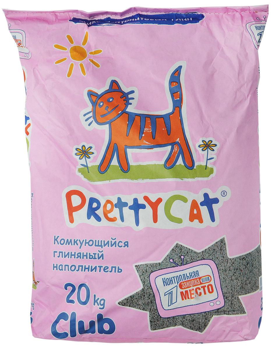 Наполнитель для кошачьих туалетов PrettyCat Euro Mix, комкующийся, 20 кг наполнитель для кошачьих туалетов sepicat fresh комкующийся облегченный классический 10 л