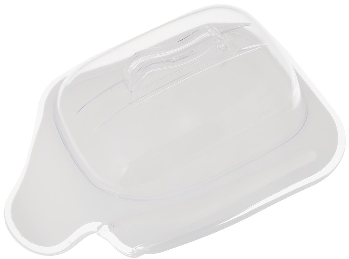 Контейнер для сыра Indecor, цвет: белый, 21 х 15 х 8,5 смIND572wКонтейнер Indecor поможет вам хранить сыр без примесей запахов в холодильнике. Изделие выполнено из пластика. Вы сможете наслаждаться вкусом и запахом вашего сыра без изменений. Такое приспособление не позволит вам остаться недовольным качеством своего любимого продукта. Контейнер оснащен углублением для ножа.
