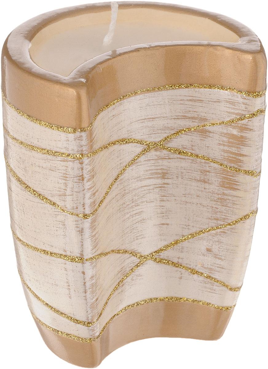 Подсвечник House & Holder, со свечой, высота 9,5 смDHS12256-3WПодсвечник House & Holder, выполненный из керамики, украсит интерьер вашего дома или офиса. Оригинальный дизайн и красочное исполнение создадут праздничное настроение. Подсвечник выполнен в форме месяца и украшен блестками. Внутри подсвечника имеется парафиновая свеча.Вы можете поставить подсвечник в любом месте, где он будет удачно смотреться, и радовать глаз. Кроме того - это отличный вариант подарка для ваших близких и друзей.