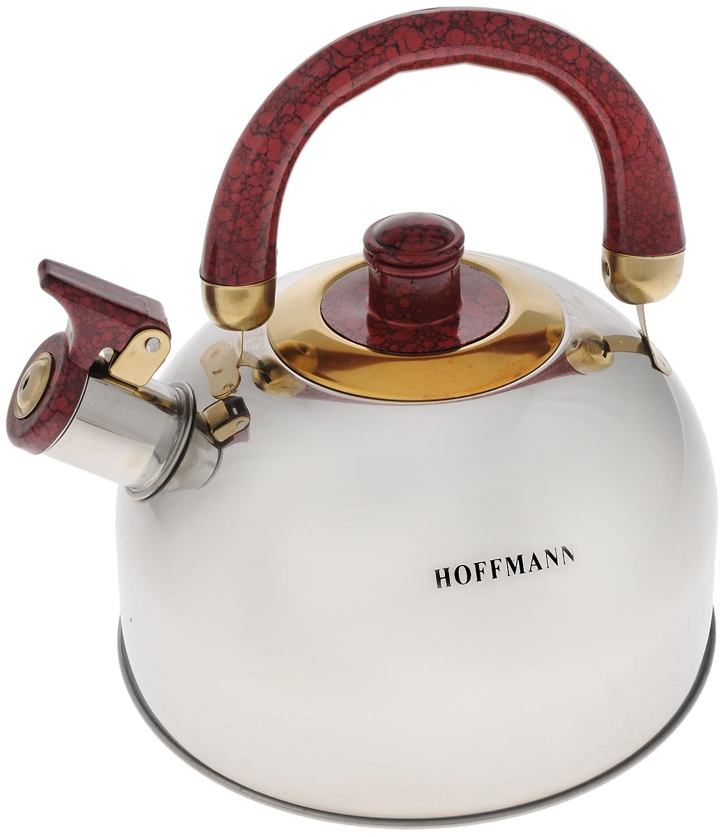 Чайник Hoffmann, со свистком, 2,5 л. НМ 5520-4НМ 5520-4
