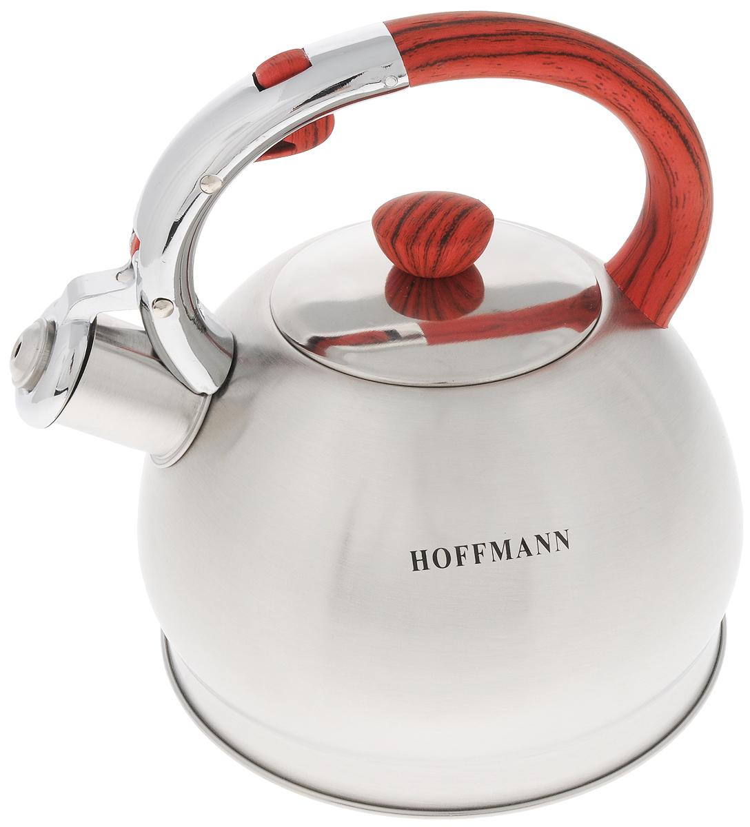 Чайник Hoffmann, со свистком, 2 л. НМ 5526/4