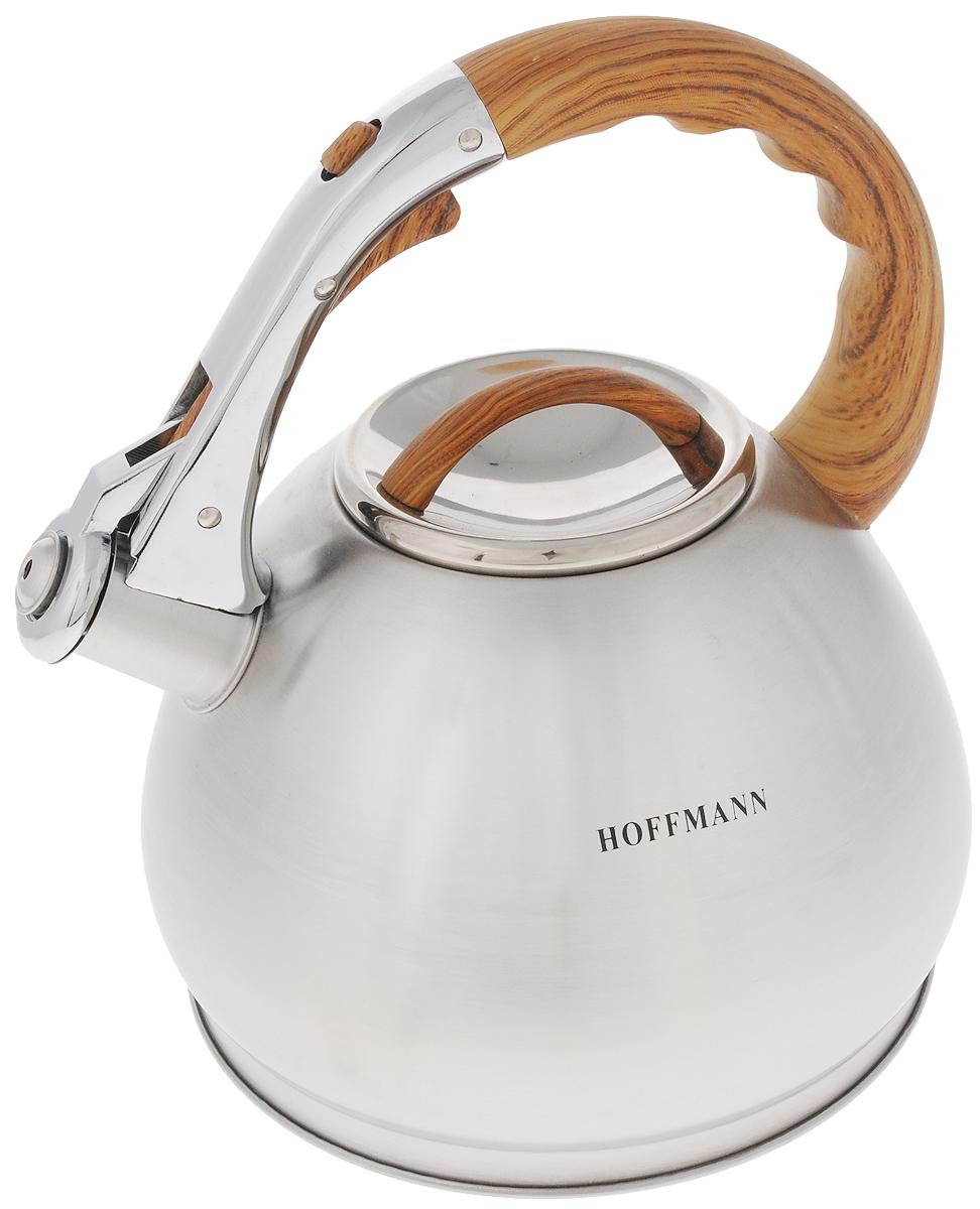 Чайник Hoffmann, со свистком, 3,5 л. HM 5545