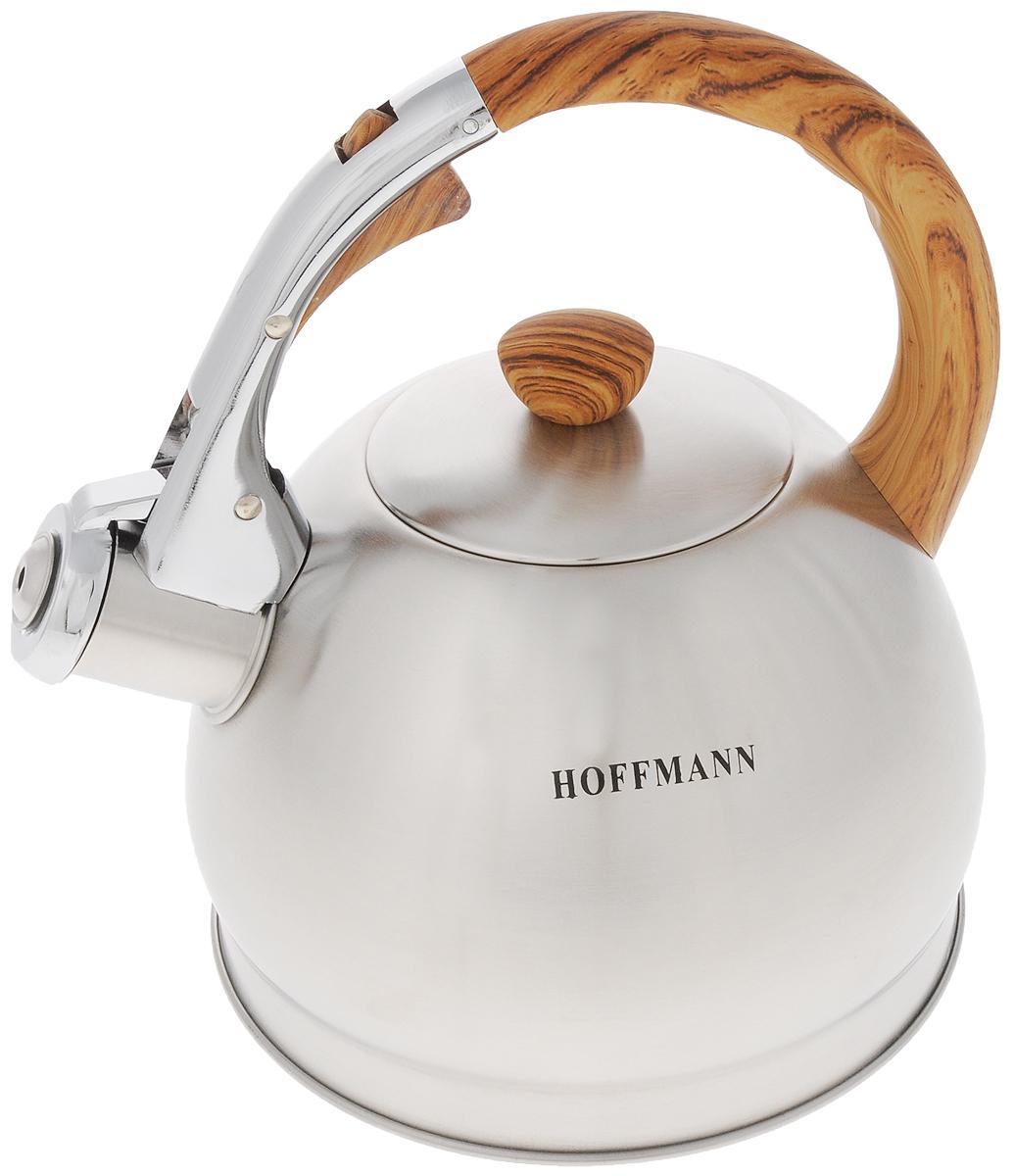 Чайник Hoffmann, со свистком, 2 л. НМ 5521