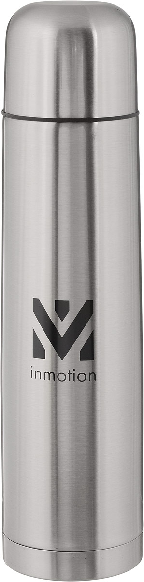 Термос Airline, цвет: металлик, черный, 1 лIT-05Термос Airline выполнен из качественной нержавеющей стали, которая не вступает в реакцию с содержимым термоса и не изменяет вкусовых качеств напитка. Двойная стенка из нержавеющей стали сохраняет температуру ваших напитков до 20 часов.Вакуумный закручивающийся клапан предохраняет от проливаний, а удобная кнопка-дозатор избавит от необходимости каждый раз откручивать крышку. Крышку можно использовать как чашку. Данная модель термоса прочная, долговечная и в тоже время легкая. Изделие упаковано в удобный чехол. Стильный металлический термос понравится абсолютно всем и впишется в любой интерьер кухни.Не рекомендуется мыть в посудомоечной машине.Диаметр горлышка: 5 см.Диаметр основания термоса: 8 см.Высота термоса: 31 см.