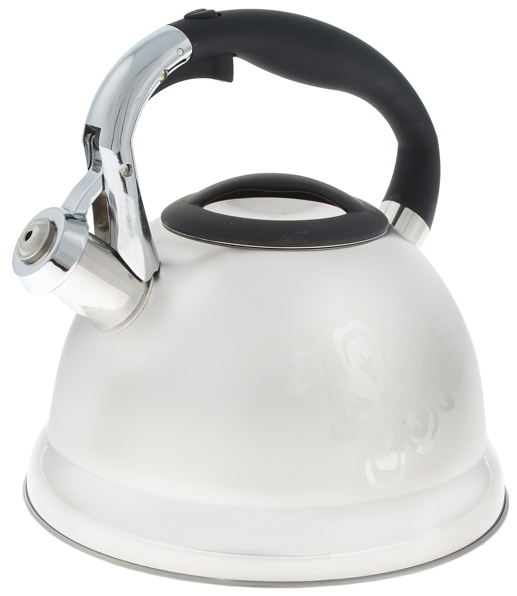 Чайник Hoffmann, со свистком, 3 л. HM 5544 чайник hoffmann со свистком цвет бежевый 2 л hm 5528 1