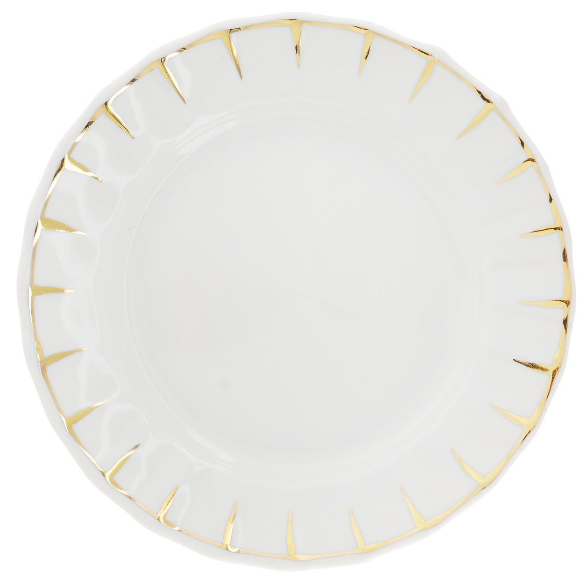 Тарелка Фарфор Вербилок Солнечный дождь, диаметр 17,5 см22465000Тарелка Фарфор Вербилок Солнечный дождь, изготовленная из высококачественного фарфора, имеет классическую круглую форму. Она прекрасно впишется в интерьер вашей кухни и станет достойным дополнением к кухонному инвентарю. Тарелка Фарфор Вербилок Солнечный дождь подчеркнет прекрасный вкус хозяйки и станет отличным подарком.Диаметр тарелки (по верхнему краю): 17,5 см.Высота тарелки: 2,5 см.