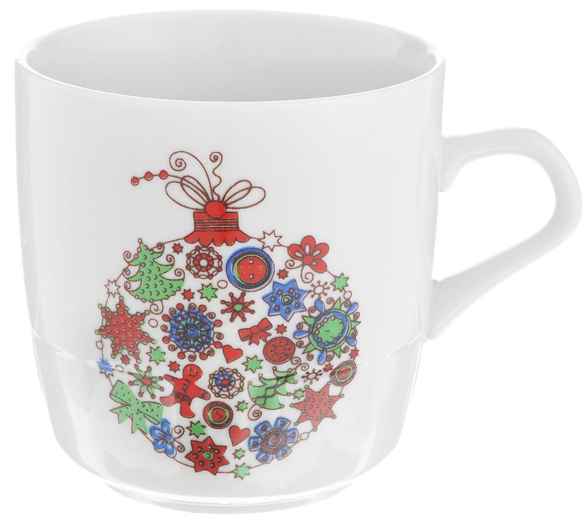 Кружка Фарфор Вербилок Разноцветные шары, 250 мл5813140Кружка Фарфор Вербилок Разноцветные шары способна скрасить любое чаепитие. Изделие выполнено из высококачественного фарфора. Посуда из такого материала позволяет сохранить истинный вкус напитка, а также помогает ему дольше оставаться теплым.Диаметр по верхнему краю: 8 см.Высота кружки: 8,5 см.
