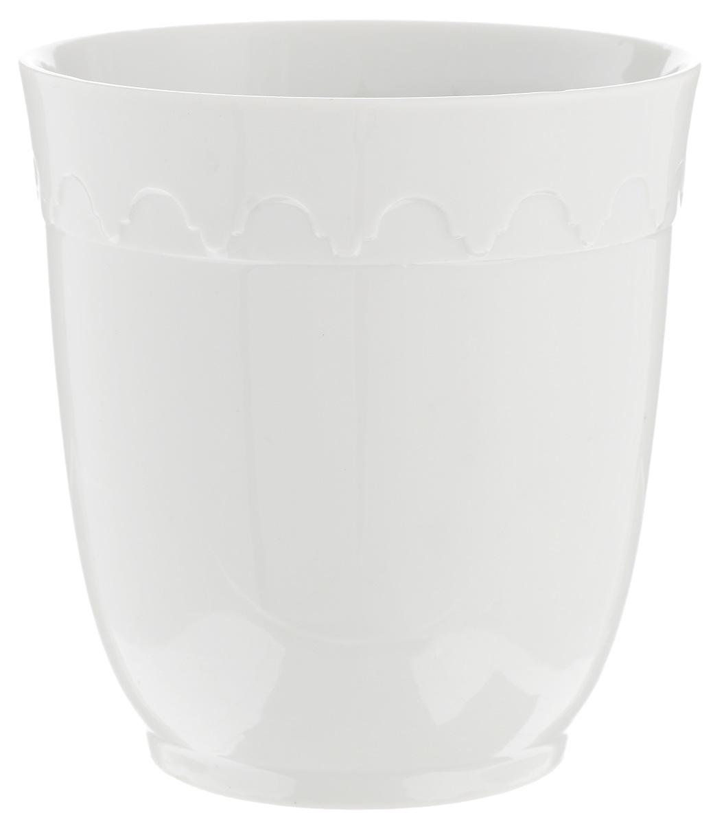 Кружка Фарфор Вербилок Арабеска, без ручки, 250 мл1129000БКружка Фарфор Вербилок Арабеска способна скрасить любое чаепитие. Изделие выполнено из высококачественного фарфора. Посуда из такого материала позволяет сохранить истинный вкус напитка, а также помогает ему дольше оставаться теплым.Диаметр по верхнему краю: 8 см.Высота кружки: 9 см.