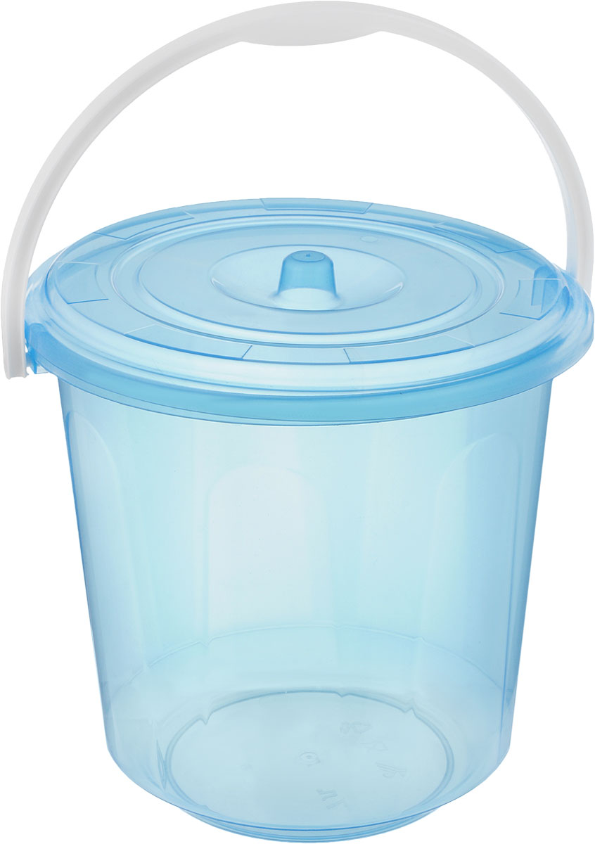 Ведро Альтернатива Хозяюшка, с крышкой, цвет: голубой, 7 лМ1204_голубойКруглое ведро Альтернатива Хозяюшка изготовлено извысококачественного пластика. Оно легче железного и неподвержено коррозии. Ведро оснащено удобнойпластиковой ручкой и плотно прилегающей крышкой.Такое ведро станет незаменимым помощником вхозяйстве. Размер (с учетом крышки): 25 х 25 х 25 см.