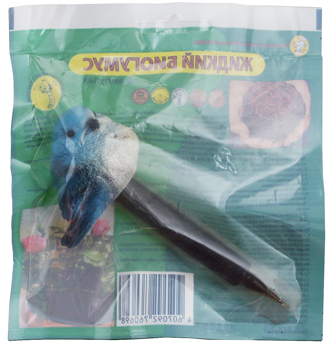 Удобрение Поля Русские Биогумус, в ампулах, цвет: голубой, 10 мл681_голубойЖидкое органическое удобрение Поля Русские Биогумус - это концентрированная вытяжка из биогумуса, полученного промышленной популяцией дождевых червей. Жидкое удобрение содержит все компоненты биогумуса в растворенном состоянии, биологически активные вещества, гуминовые кислоты, полезную микрофлору, другие метаболиты дождевых червей, аминокислоты, витамины, природные фитогормоны, микроэлементы. Эффект удобрения достигается за счет наличия в нем микрофлоры, выделяемой тканями и симбиотными микроорганизмами, находящимися в кишечнике дождевых червей. Удобрение предназначено для:- подкормки путем полива и опрыскивания овощных, цветочных и других культур,- увеличение срока сохранения свежесрезанных цветов,- замачивание семян перед посевом.Биогумус находится в пластиковой ампуле, которая украшена декоративным наконечником в виде птички. Состав: гуминовые вещества - не менее 3 г/л, pH - не менее 7,5, микроэлементы: Mg, Fe, B, Mn, Cu, Mo, Zn.Товар сертифицирован.