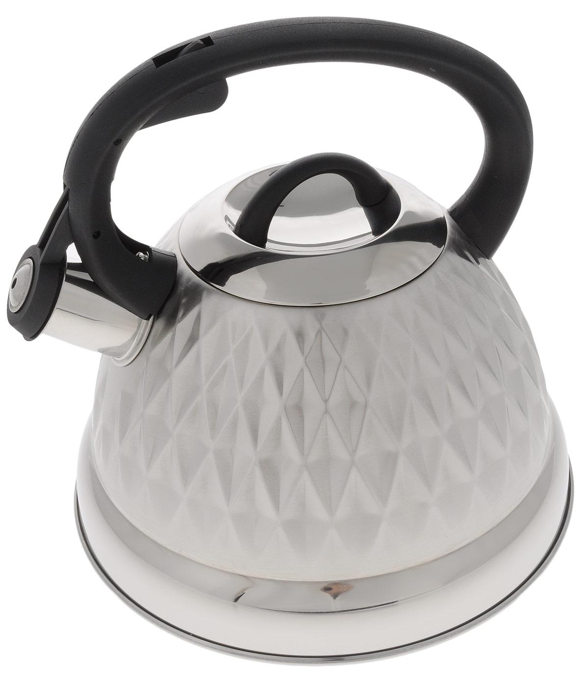 Чайник Hoffmann, со свистком, 3 л. НМ 5542