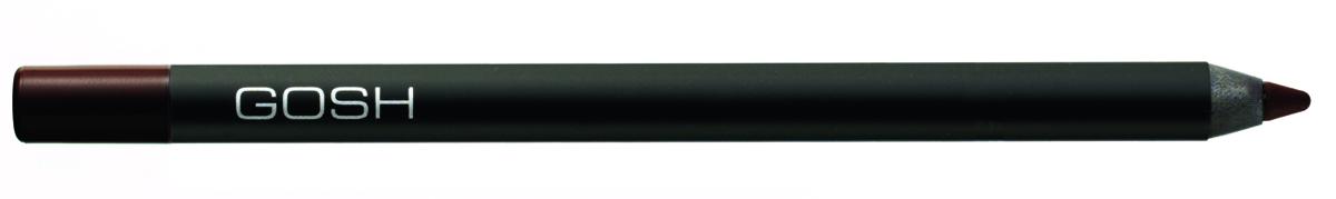 Gosh, Карандаш для глаз Velvet Touch водостойкий, 1,2 г, 023561486Водоустойчивый контур для глаз Carbon black. Новая формула водоустойчивого контура для глаз обеспечит Вам мягкое и лёгкое нанесение великолепного макияжа. Фиксируется в течение 30-40 секунд, что позволяет растушевать или подправить линию. Пластиковый корпус прекрасно защищает контур от воздуха и высыхания. Легко затачивается косметической точилкой GOSH. Цветной пластиковый указатель соответствует цвету контура. - Мягкий - Суперустойчивый и водостойкий - Витамин Е - Масло жожоба - Без отдушек и парабенов - Фиксируется в течение 30-40 секунд
