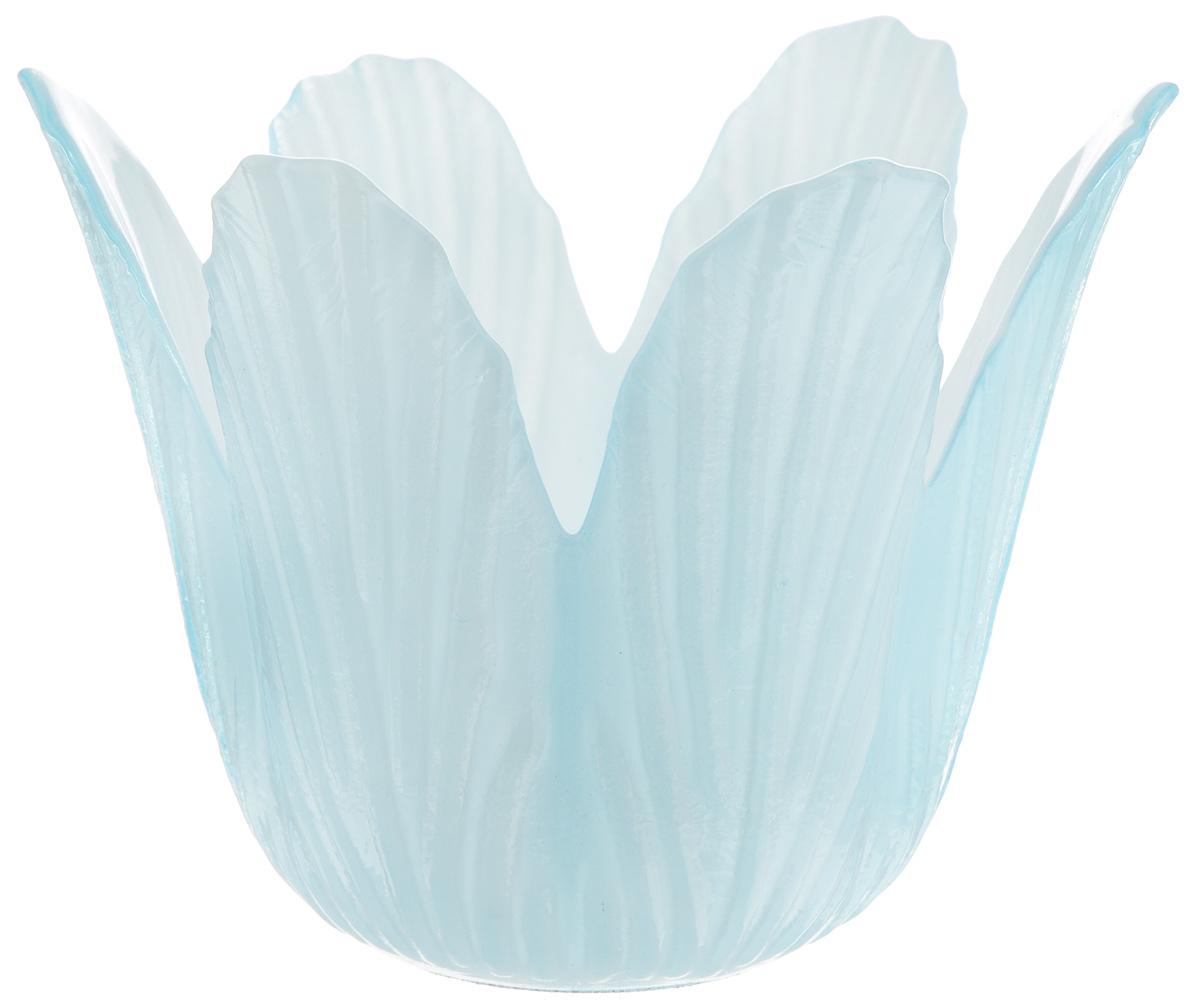 Подсвечник декоративный House & Holder, цвет: голубой, высота 7,5 смDP-C32-12HG15622A-22Декоративный подсвечник House & Holder изготовлен изкерамики в виде кувшинки голубого цвета. Свеча вставляетсявнутрь цветка. Такой подсвечник будет потрясающе смотреться в интерьерекомнаты и станет прекрасным сувениром к любому случаю.