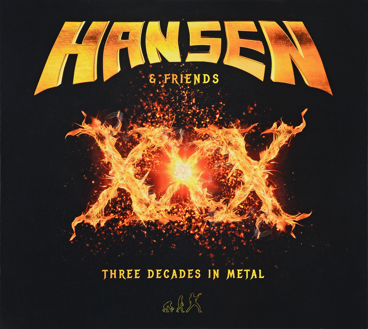 Kai Hansen Hansen & Friends. XXX. Three Decades In Metal (2 CD) футболка helly hansen футболка
