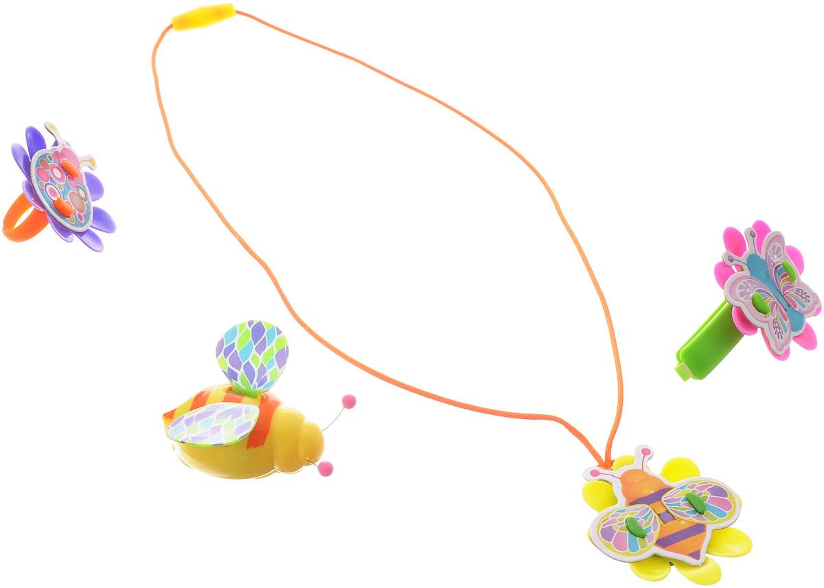 Magic Blooms Интерактивная игрушка Волшебный жучок с ожерельем кольцом и заколкой