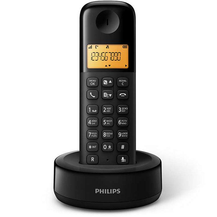 Philips D1301B/51 радиотелефон4895185610566Стильный беспроводной телефон Philips D1301B/51 с привлекательным дизайном оснащен важнымиинтеллектуальными функциями. Превосходное воспроизведение звука, интуитивно понятные функции,великолепная четкость звучания во время разговора — просто подключите телефон с помощью функции Plug &Play, и он сразу будет готов к использованию.Автоматический контроль громкости компенсирует изменения звукового сигнала, которые могут быть вызваныбольшим расстоянием, уровнем сигнала или телефоном вызывающего абонента, для неизменного уровнязвучания. Уменьшение уровня звука для мощных сигналов и увеличение уровня звука для слабых сигналовобеспечивает бесперебойный разговор без нежелательного изменения громкости звука.Телефоны Philips отличаются экономичным энергопотреблением, что снижает негативное воздействие наокружающую среду.Легкая установка, навигация и управление благодаря интуитивно понятному меню на разных языках.Оптимизированное расположение антенны обеспечивает мощный и стабильный прием сигнала даже вкомнатах, где беспроводная связь может быть затруднена. Теперь можно принимать звонки в любом месте инаслаждаться длительным и беспрерывным разговором при передвижении по дому.При цифровой обработке звука используется параметрический эквалайзер для точной подстройки звуковойхарактеристики до запланированной линейной кривой амплитудно-частотной характеристики, обеспечиваячистое и четкое звучание каждого разговора.Иногда перед ответом хочется знать, кто звонит. Идентификатор входящего вызова позволяет отслеживать,кто находится на другом конце линии.Для дополнительного комфорта задняя панель телефонной трубки имеет специальное текстурное покрытие.Питание: 2 аккумулятора ААА (Ni-Mh) Дальность: до 50 м в помещении