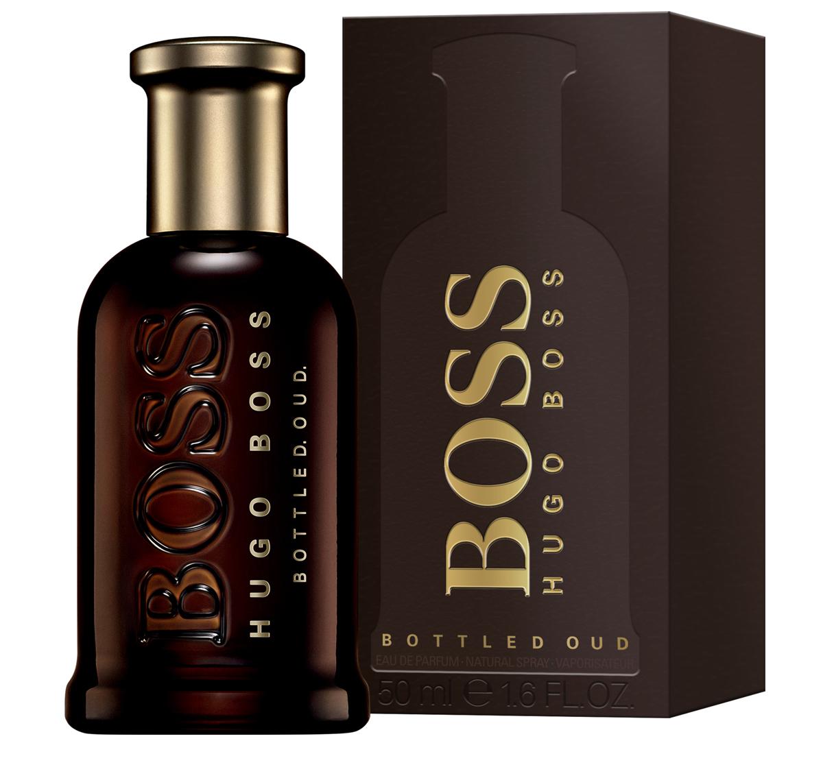 Hugo Boss Bottled Oud Парфюмерная вода мужская 50 мл0737052933221Boss Bottled Oud – глубокий, густой, обволакивающий и мистический по своему звучанию мужской восточно-древесный парфюм с бархатистыми пряными акцентами, выпущенный в 2015 году немецким модным брендом Hugo Boss. Аромат является своеобразным подарком всем любителем аромата уда. Считающийся священным на Востоке, уд последнее время начал свое победное шествие и в западной парфюмерии. Однако очень густой, дымно-сладкий аромат, столь популярный на Востоке непривычен для европейцев. Поэтому парфюмерам приходится облегчать его с помощью других ароматических ингредиентов, заставляя звучать более легко и непринужденно, как это принято в европейских парфюмерных традициях. Таким вот ароматом, стоящим одновременно на восточных и европейских традициях, и стал новый парфюм от Хьюго Босс. В нем сладковато-дымный, пряный уд буквально растворяется в бархатистых нотах корицы и горьковато-пряном шафране, будучи дополненным тонким древесно-сливочным аромата светлой древесины.Верхняя нота: Цитрусовый аккорд, Яблоко.Средняя нота: Шафран, Гвоздика, Нота ладанника.Шлейф: Уд, Сандаловое дерево, Сыть.Яблоко, шафран - ИСТИННАЯ МУЖЕСТВЕННОСТЬ С НАЛЕТОМ РОСКОШИ.Дневной и вечерний аромат.Краткий гид по парфюмерии: виды, ноты, ароматы, советы по выбору. Статья OZON Гид