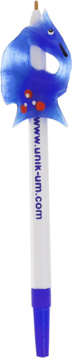УникУм Ручка-самоучка Тренажер для левшей цвет синийАС-1728_синийДля того, чтобы легко, быстро и красиво писать, необходимо научиться правильно держать ручку или карандаш.Данная задача для левшей является сложной, так как классические прописи не предусматривают специального обучения левшей.Ручка-самоучка УникУм Тренажер для левшей позволяет в игровой форме, без усилий выработать правильную постановку пальцев при обучении ребенка рисованию и технике письма - ручку (карандаш) держать легко и удобно.Взрослому не нужно постоянно стоять над ребенком, объясняя как должен располагаться каждый пальчик и какой должен быть наклон ручки. Достаточно помочь ребенку в первое время обучения.Тренажер для левшей позволяет выработать чистый и красивый почерк.Рекомендовано Институтом психолого-педагогических проблем детства Российской академии образования.