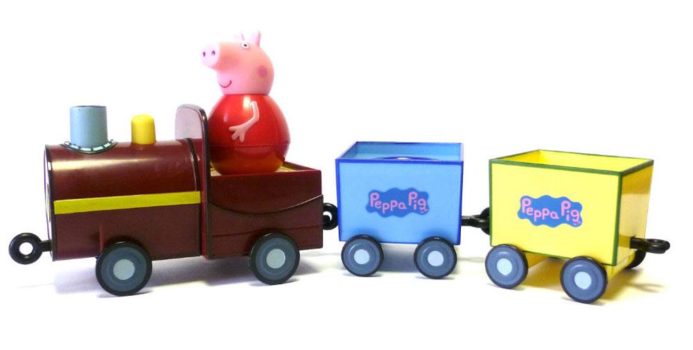 Peppa Pig Игровой набор Поезд Пеппы-неваляшки peppa pig набор ракета пеппы неваляшки peppa pig 28796
