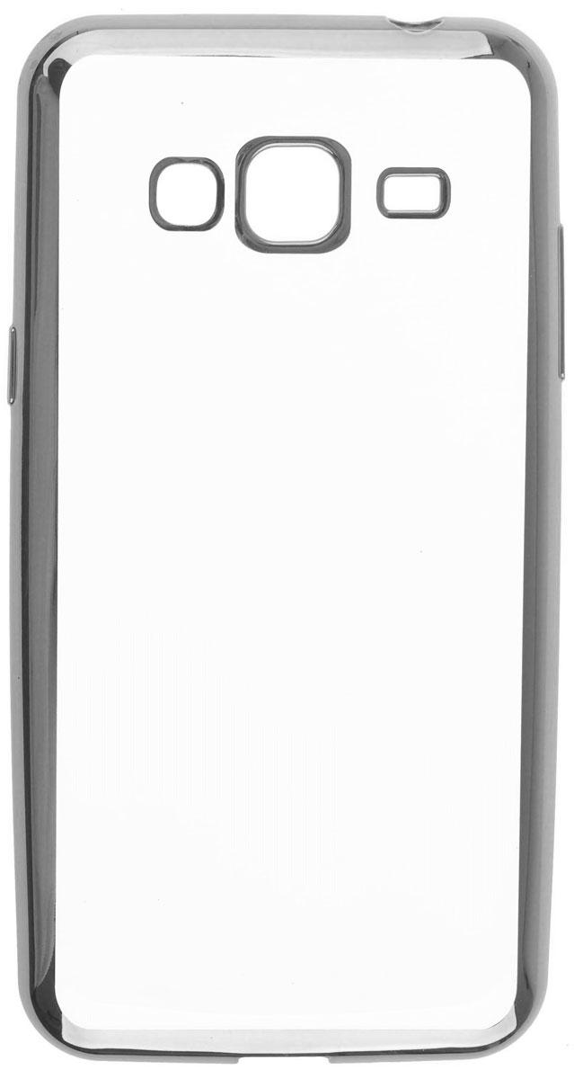 Skinbox 4People Silicone Chrome Border чехол-накладка для Samsung Galaxy J3 (2016), Silver2000000105437Чехол Skinbox 4People Silicone Chrome Border надежно защищает ваш смартфон от внешних воздействий, грязи, пыли, брызг. Он также поможет при ударах и падениях, не позволив образоваться на корпусе царапинам и потертостям. Чехол обеспечивает свободный доступ ко всем функциональным кнопкам смартфона и камере.
