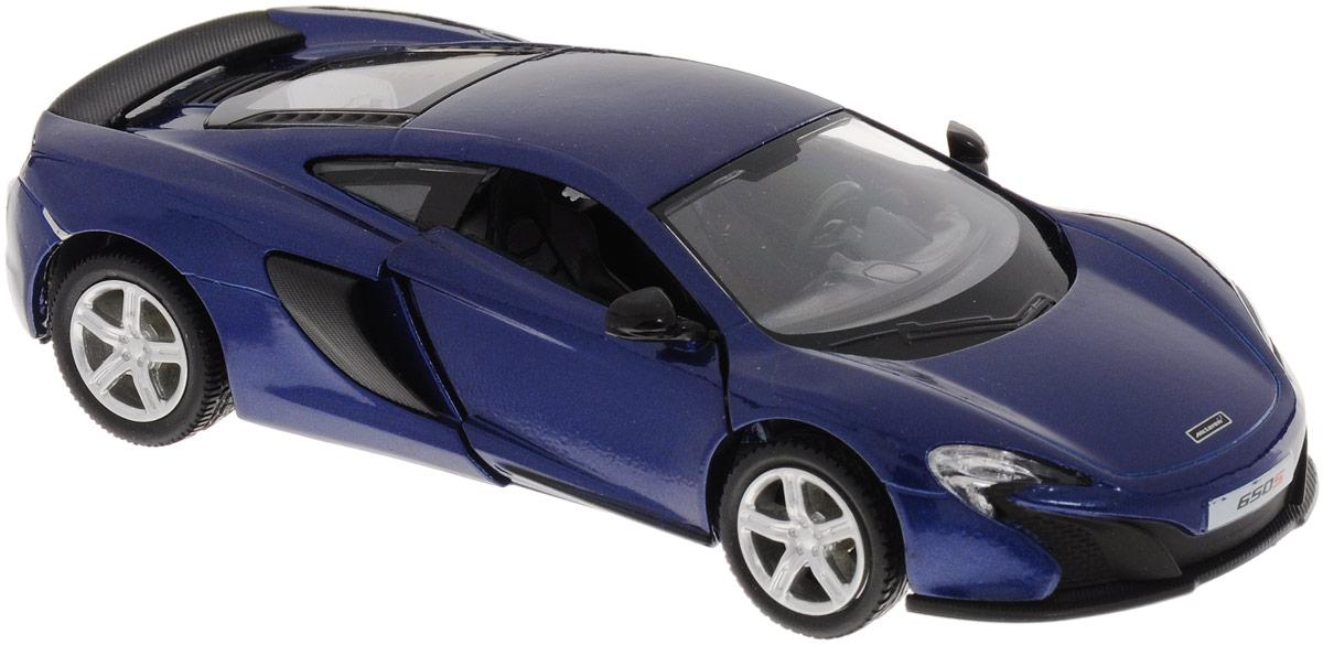 Uni-Fortune Toys Модель автомобиля McLaren 650S цвет синий