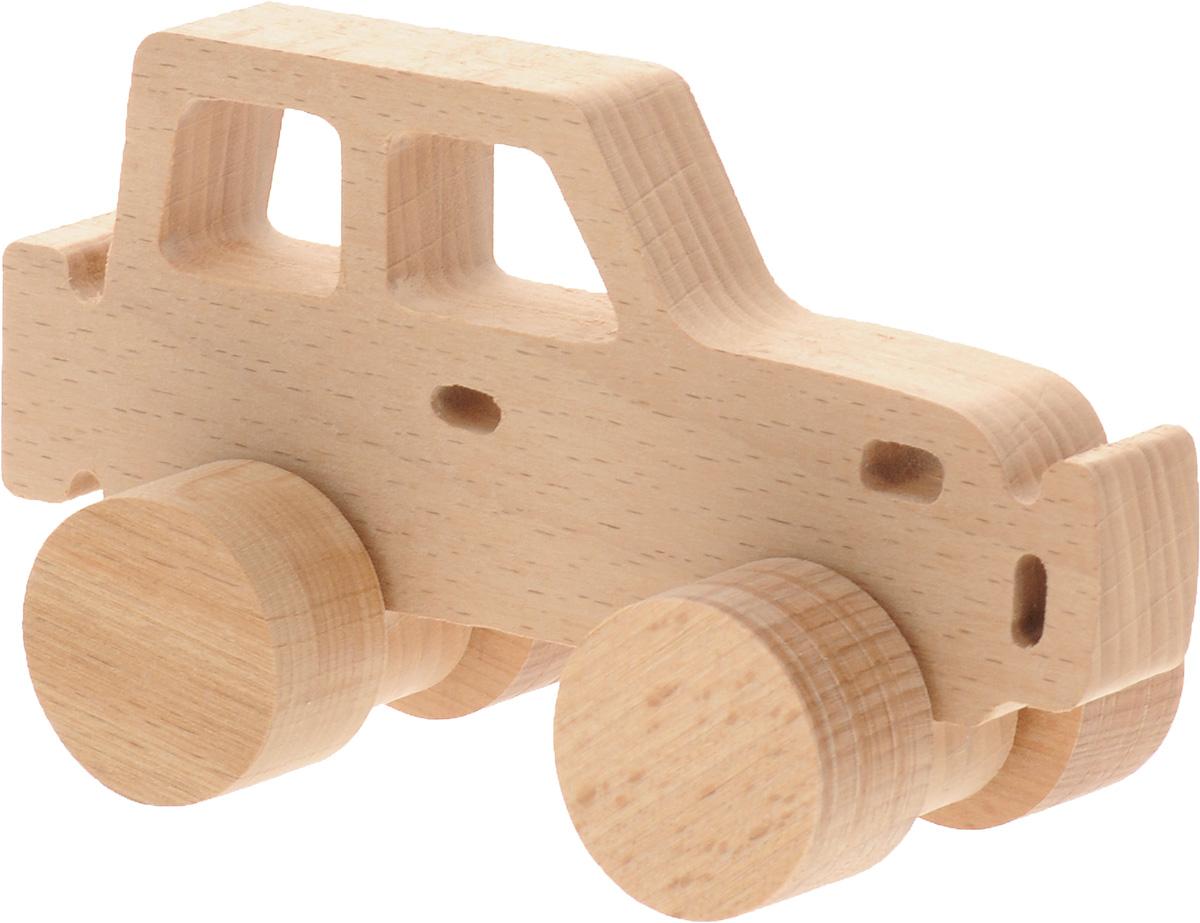 Волшебный городок Игрушка-каталка Джип игрушка каталка жираф деревянная