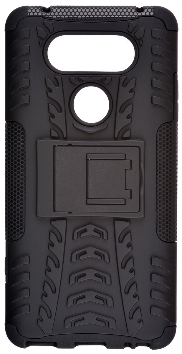 Skinbox Defender case чехол-накладка для LG V20, Black skinbox defender case чехол накладка для leeco le 2 pro black