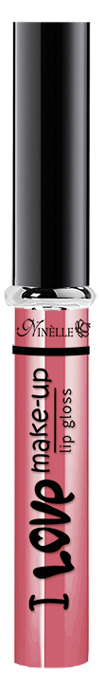 Ninelle Блеск для губ I Love Make-Up № 05, 7мл ninelle карандаш для губ ultimate 332