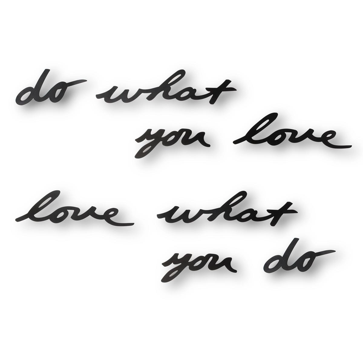 Украшение на стену Umbra Do what you love