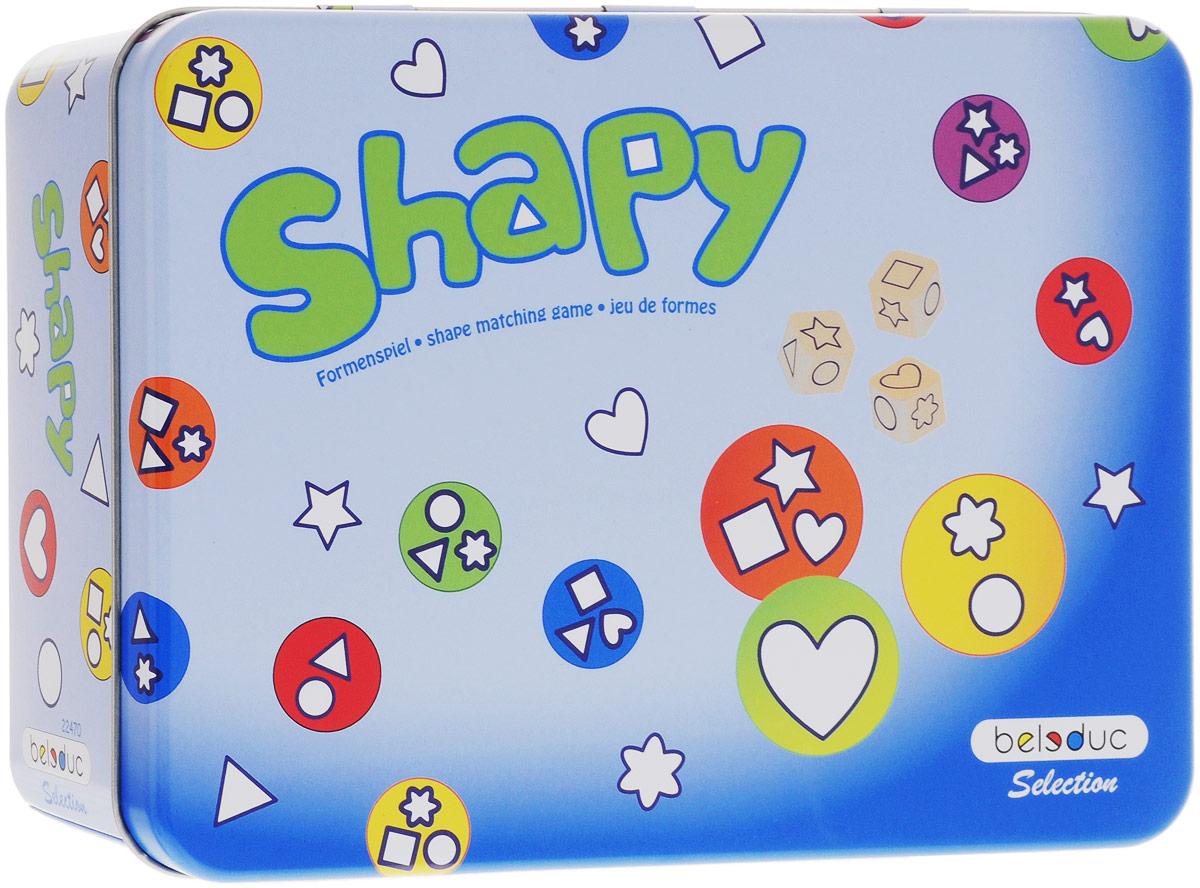 Beleduc Обучающая игра Shapy нескучные игры обучающая игра мемо москва