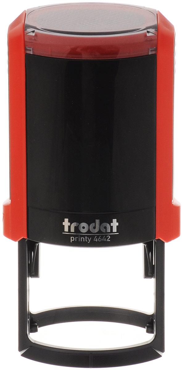 Trodat Оснастка для печати автоматическая Printy цвет красный 42 мм