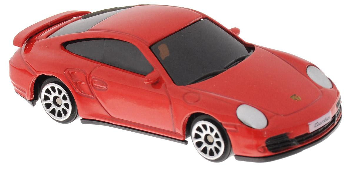 Uni-Fortune Toys Модель автомобиля Porsche 911 Turbo цвет красный uni fortune toys модель автомобиля chevrolet camaro ss 1969 цвет черный