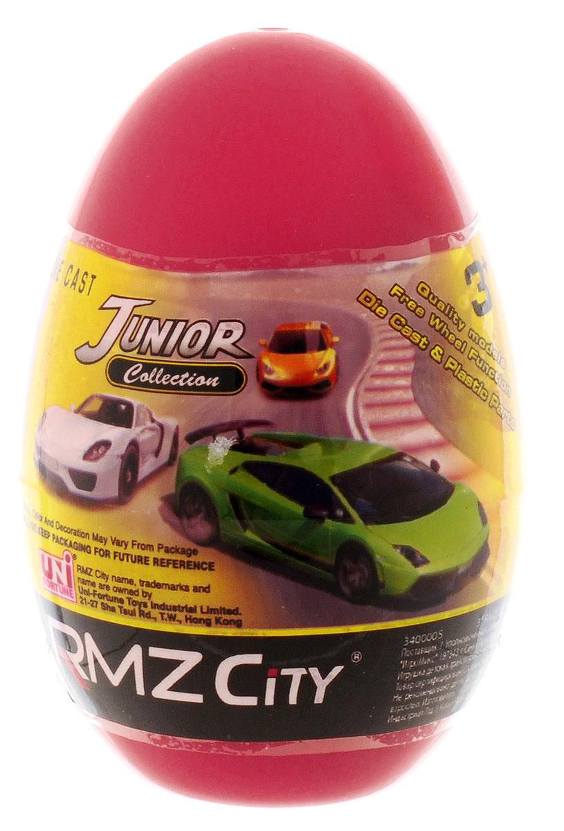 Uni-Fortune Toys Яйцо с моделью автомобиля цвет красный uni fortunetoys модель автомобиля porsche cayenne turbo