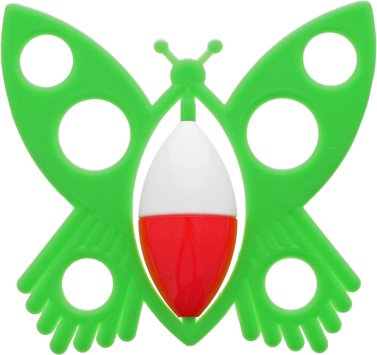 Аэлита Погремушка Бабочка цвет салатовый