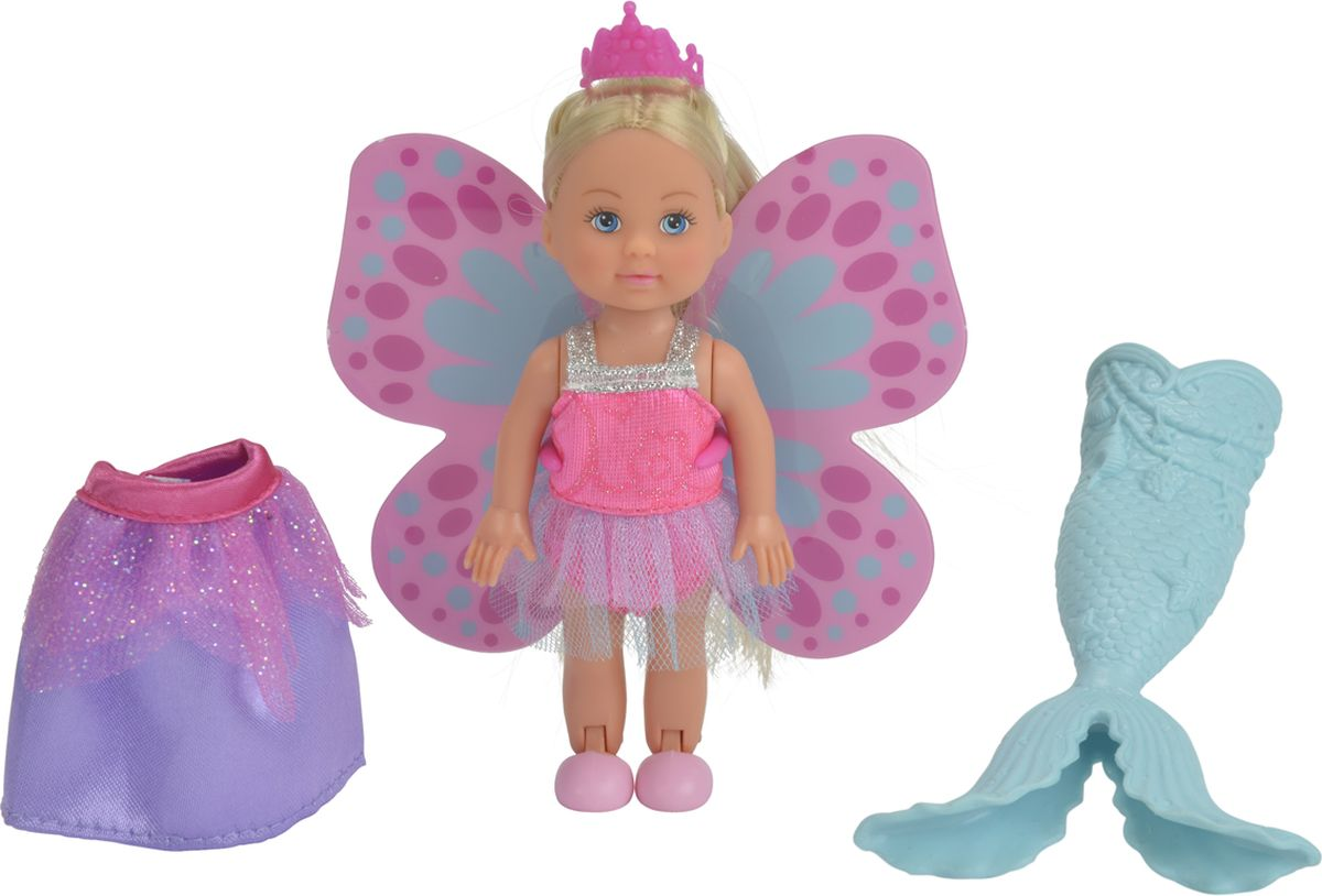 Simba Мини-кукла Еви Русалочка Фея Принцесса