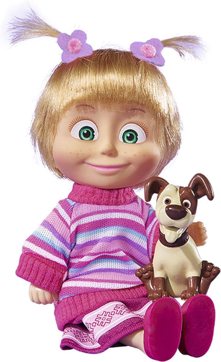 Simba Мини-кукла Маша с собачкой