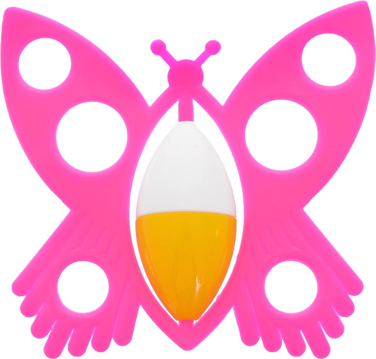 Аэлита Погремушка Бабочка цвет розовый