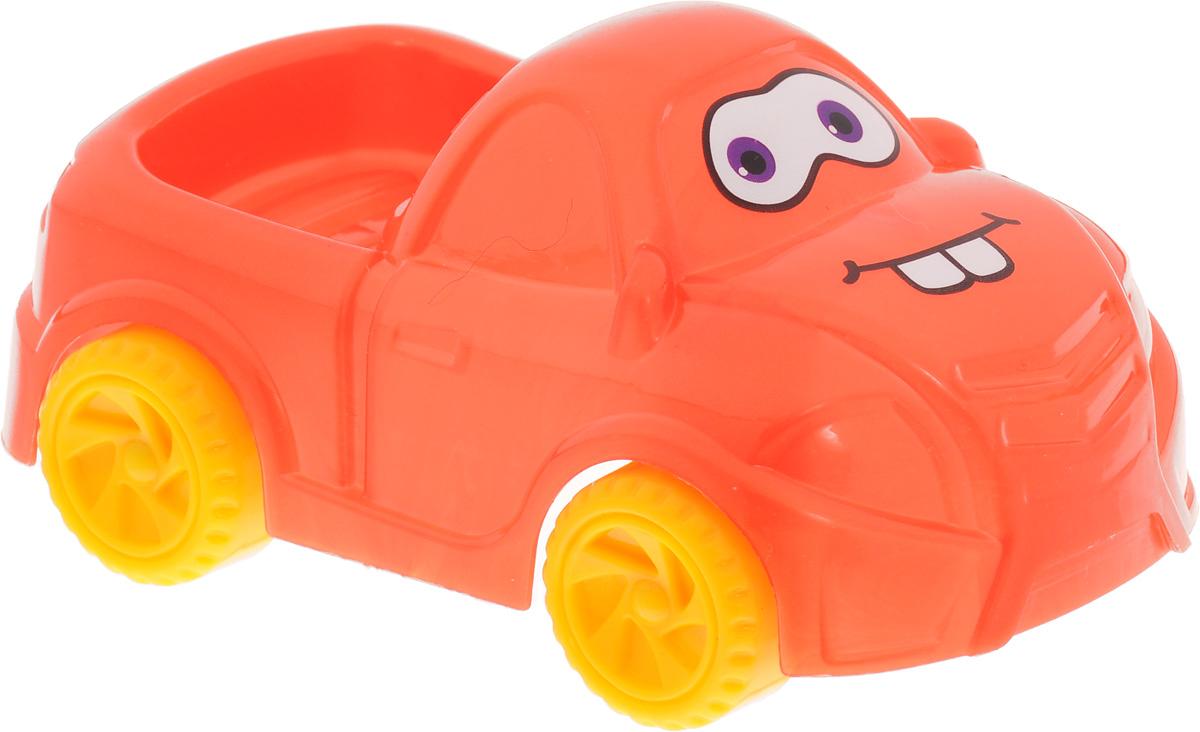 Нордпласт Машинка Глазастик цвет оранжевый
