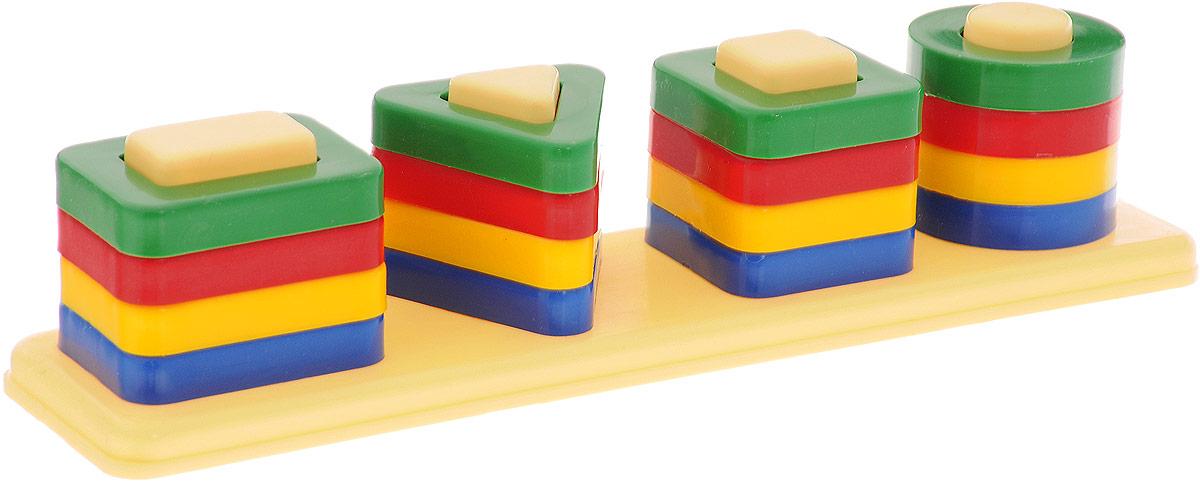 Аэлита Развивающая игра Цветные столбики столбики ограждения с канатом купить екатеринбург
