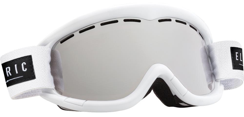 Очки горнолыжные Electric EG1K, оправа: Gloss White Bronze, линза: Silver ChromeEG0914Очки горнолыжные Electric EG1K - младший брат легендарной маски EG1. Обладает такими же характеристиками, как и взрослая модель. Классические линии, компактный размер. Разработана с применением самых современных технологий и материалов, что обеспечивает вам прекрасный обзор и защиту.Как выбрать горные лыжи для ребёнка. Статья OZON Гид