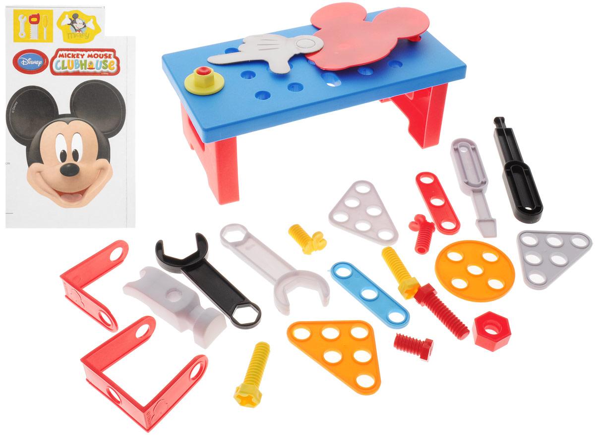 Bildo Игровой набор инструментов с тележкой Микки Маус набор автомойка микки
