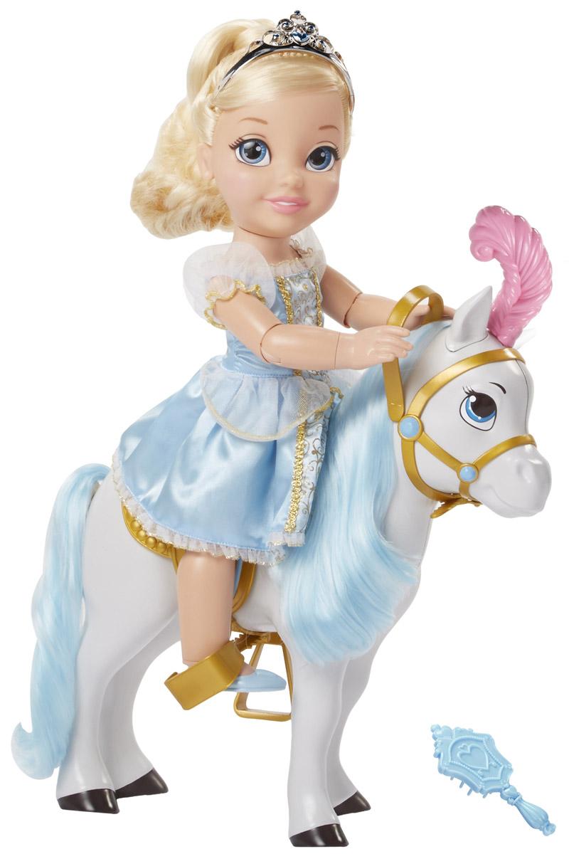 Disney Princess Игровой набор с куклой Золушка и лошадь disney princess игровой набор мерида и пони