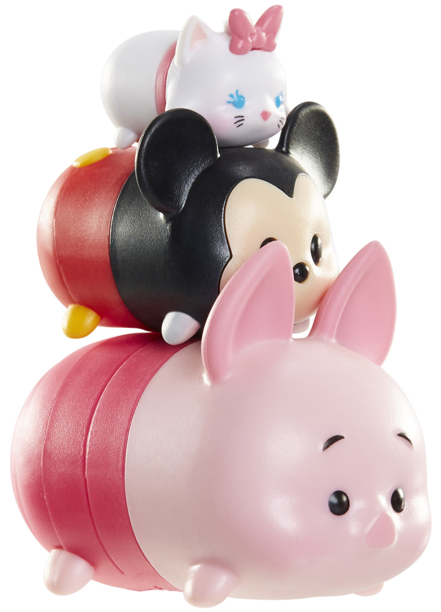 Tsum Tsum Набор фигурок Мэри Микки Пятачок new in box tsum tsum stack n play toy shop original