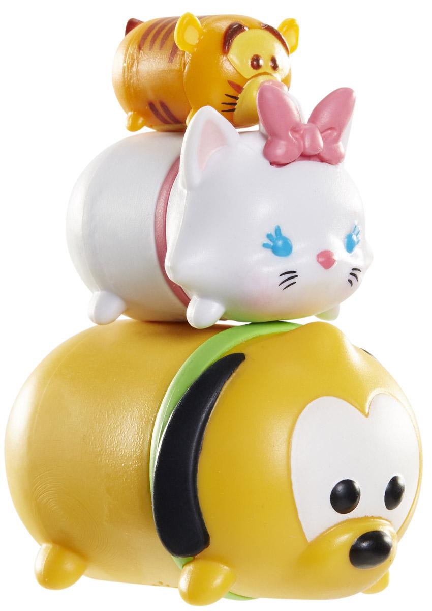 Tsum Tsum Набор фигурок Тигруля Кошечка Мэри Плуто фигурка коллекционная tsum tsum