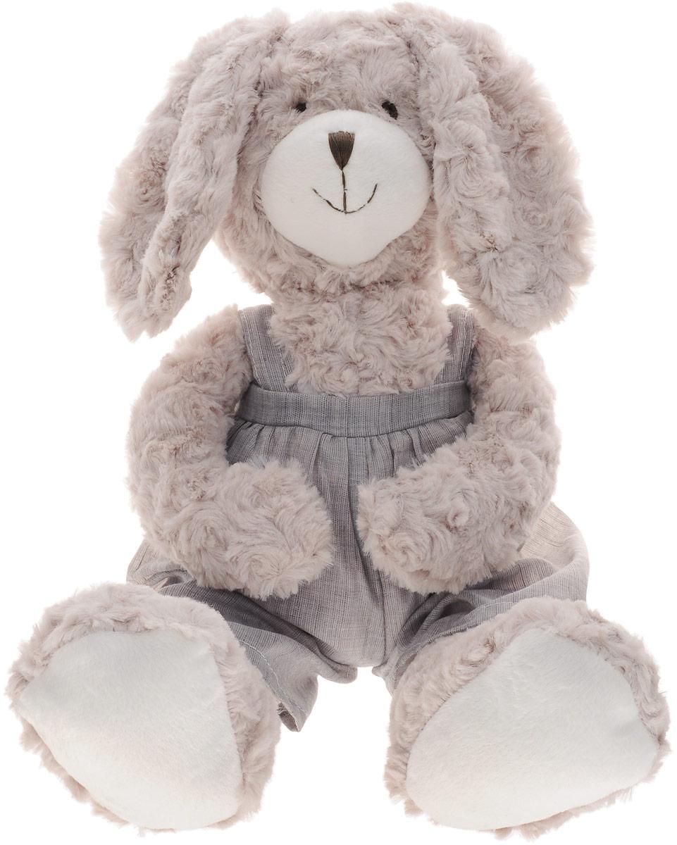 Gulliver Мягкая игрушка Зайка Том 40 см ошейник для собак collar soft цвет черный диаметр 6 мм обхват шеи 17 20 см