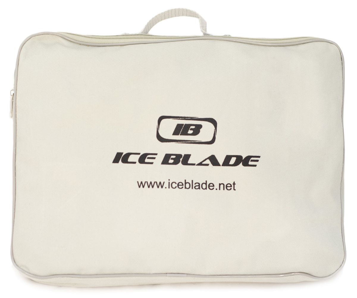 Коньки хоккейные Ice Blade Shark, цвет:  черный, желтый.  УТ-00006841.  Размер 44 Ice Blade