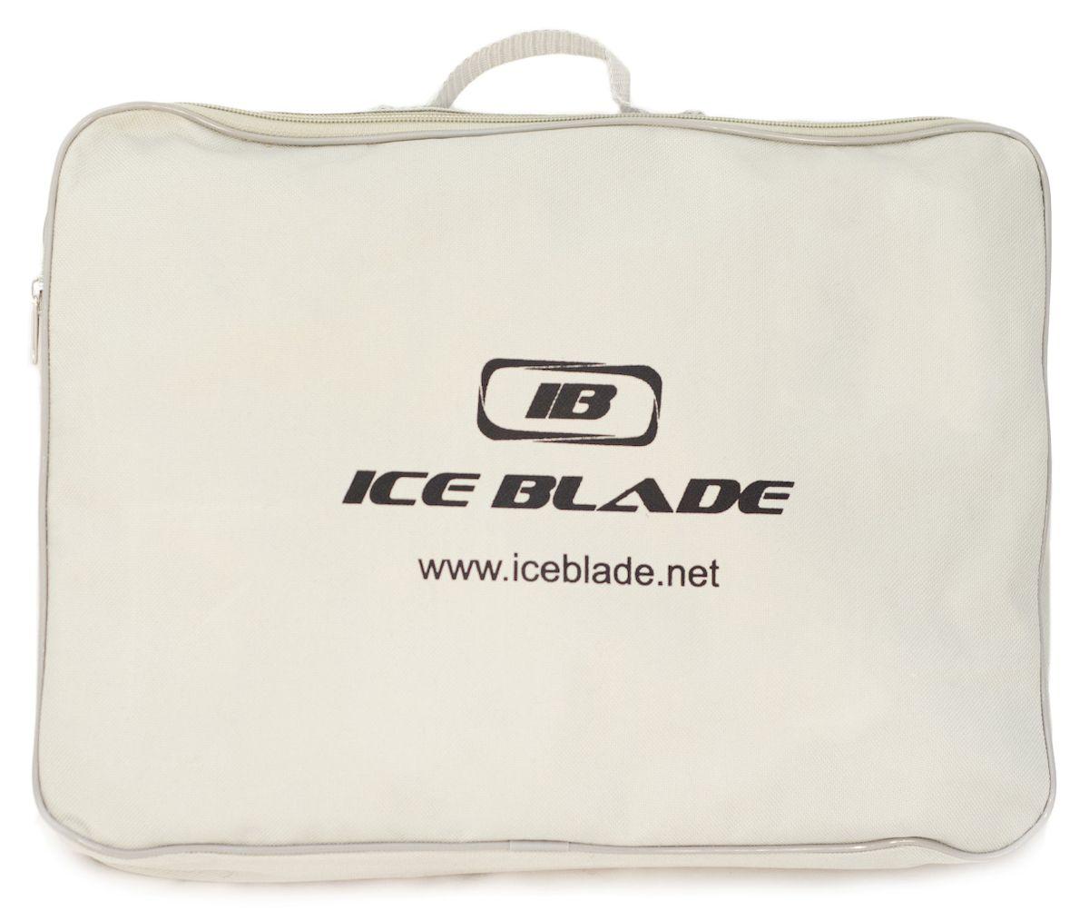 Коньки фигурные Ice Blade Vogue, цвет:  белый, золотой.  УТ-00006871.  Размер 32 Ice Blade