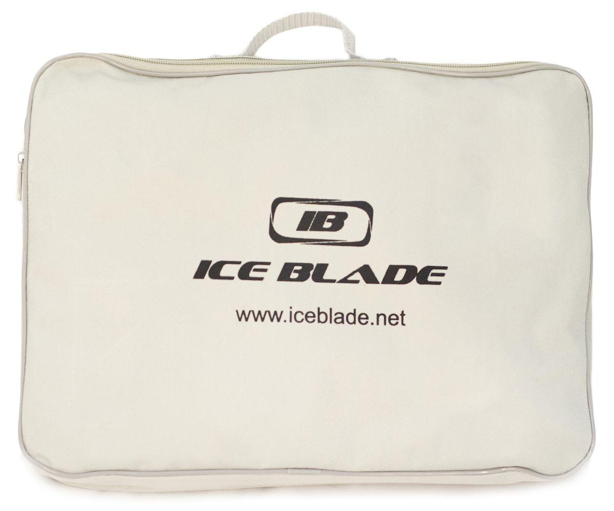 Коньки хоккейные Ice Blade Alex New, цвет:  черный, красный, серый.  УТ-00006868.  Размер 37 Ice Blade