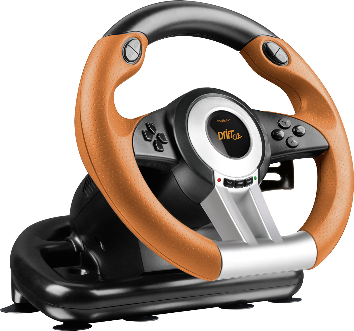 Zakazat.ru Speedlink Drift O.Z. Racing Wheel, Black Orange руль